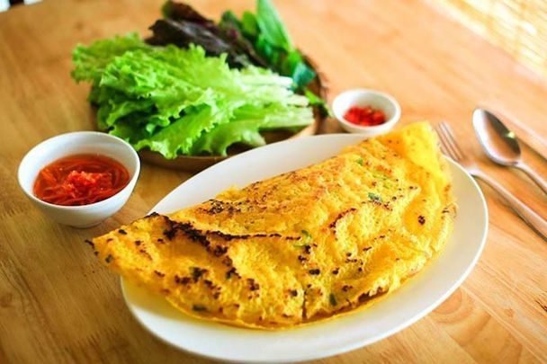 15. French-Inspired Crepes (Bánh Xèo) (Source: Thucthan Website)